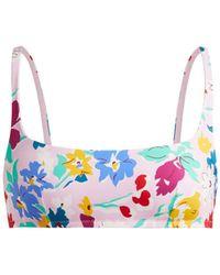 Araks - Quinn Floral Print Bikini Top - Lyst