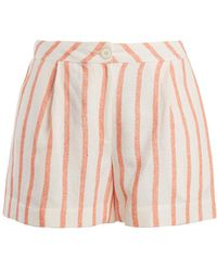 Thierry Colson   Biarritz Spugna High-waisted Shorts   Lyst