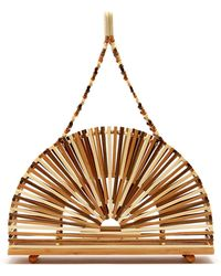 Cult Gaia - Dome Bamboo Bag - Lyst