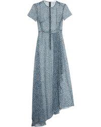Jonathan Saunders - Nicole Dot-print Silk Maxi Dress - Lyst