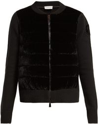 Moncler - Maglione Wool Blend Cardigan - Lyst