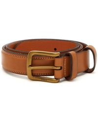 Polo Ralph Lauren - Logo Debossed Leather Belt - Lyst