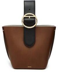 JOSEPH - Sevres Mini Buckle Handle Leather Bag - Lyst