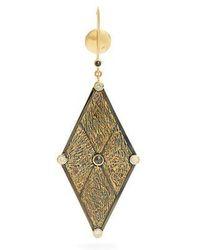 Ara Vartanian - X Kate Moss Diamond & Gold Earring - Lyst