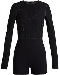Maison Margiela - Panelled Bodysuit - Lyst