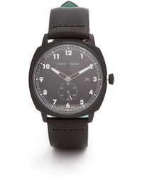 Larsson & Jennings - Mk I Pilot Stainless-steel And Leather Watch - Lyst