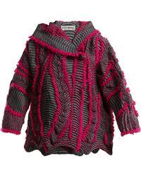 Issey Miyake - Eagle Pleated Hooded Jacket - Lyst