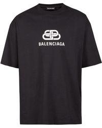 Balenciaga - Patterned T-shirt - Lyst