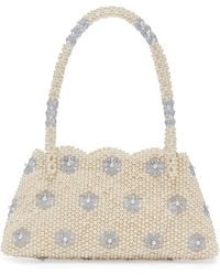 Shrimps - Astrid Faux Pearl And Crystal Embellished Bag - Lyst e57316f77c852