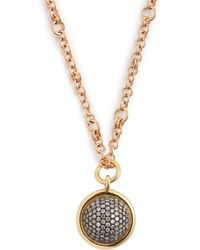 Spinelli Kilcollin - Galina 18kt Rose Gold & Diamond Pavé Necklace - Lyst