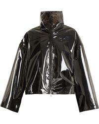 Valentino - Translucent Zip-through Jacket - Lyst