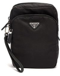 Prada - Black Nylon Camera Bag - Lyst