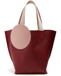 ROKSANDA - Eider Pebbled-leather Tote - Lyst