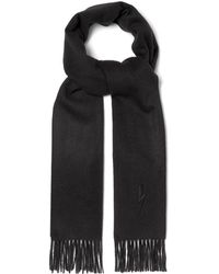 Neil Barrett - Bolt Embroidered Scarf - Lyst