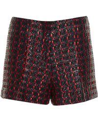 Sonia Rykiel - Coated-tweed Tailored Shorts - Lyst