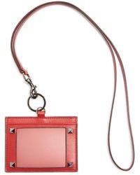 Valentino | Rockstud Leather Lanyard | Lyst