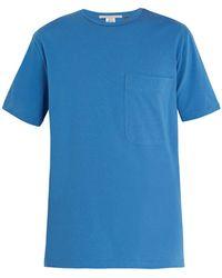 Stella McCartney - - Short Sleeve Cotton Shirt - Mens - Light Blue - Lyst