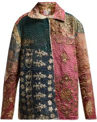 By Walid - Hope Panelled 19th-century Silk Jacket - Lyst
