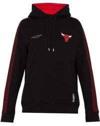 Marcelo Burlon - Sweat-shirt en coton à capuche Chicago Bulls - Lyst