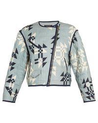 Isabel Marant - Lazel Geometric-print Jacket - Lyst
