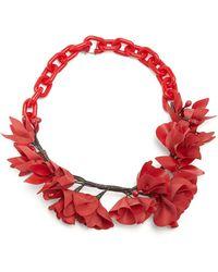 Isabel Marant - Honolulu Flower Necklace - Lyst