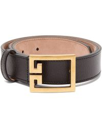 Givenchy - Double G Leather Belt - Lyst