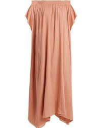 Loup Charmant - Hydra Off The Shoulder Organic Cotton Dress - Lyst