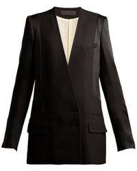 Haider Ackermann - Kuiper Double-breasted Jacket - Lyst