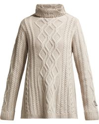 Queene And Belle - Hester Roll Neck Cashmere Jumper - Lyst