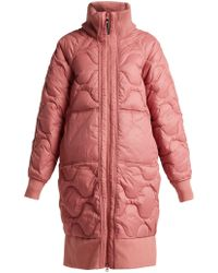 adidas By Stella McCartney - Scale Print Quilted Jacket - Lyst