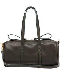 Mansur Gavriel - Mini Mini Duffle Leather Bag - Lyst