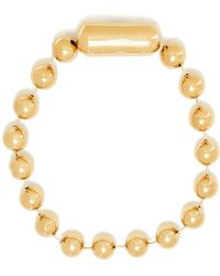 Balenciaga - Oversized Bead-embellished Necklace - Lyst