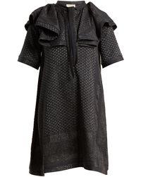 Cecilie Copenhagen - Afterlife Scarf-jacquard Cotton-blend Dress - Lyst