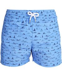 Frescobol Carioca - Sports Surfistas-print Swim Shorts - Lyst