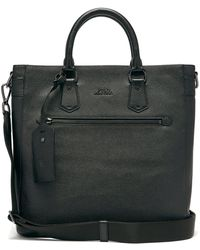 Lyst - Polo Ralph Lauren Mens Black Messenger Bag With Zip in Black ... d1a77eb8f8b68