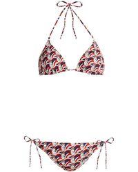 LaDoubleJ - Faccine-print Bikini - Lyst
