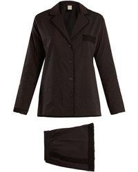 Morpho + Luna - Cara Cotton Plumetis Pyjama Set - Lyst