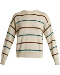 Étoile Isabel Marant | Gatlin Striped Alpaca-blend Sweater | Lyst