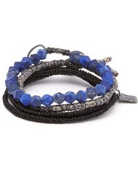M. Cohen - The Create Stack Ii Bead Embellished Bracelet - Lyst