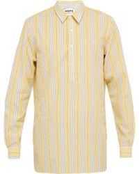Hope - Striped Cotton Shirt - Lyst