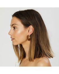 Matisse - Wooden Statement Earrings - Lyst