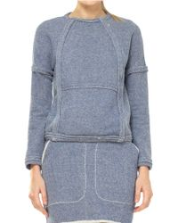 Leon Max - French Terry Zip Up Jacket - Lyst
