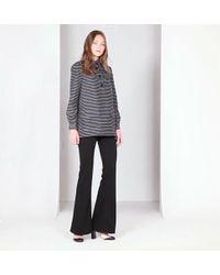 Max Studio - Heart Jacquard Long Sleeved Tunic - Lyst