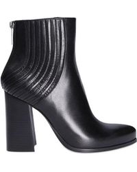 Giampaolo Viozzi - Black Leather Ankle Boots - Lyst