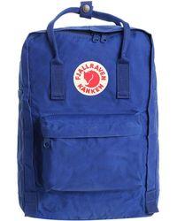 Fjällräven Kånken - Blue Polyamide Backpack - Lyst