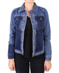 WÅVEN - Blue Cotton Jacket - Lyst