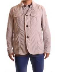 Peuterey - Beige Polyester Outerwear Jacket - Lyst