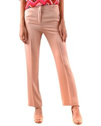 Twin Set Pink Acetate Trousers