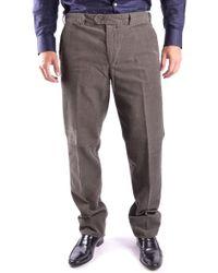Aspesi Grey Cotton Trousers