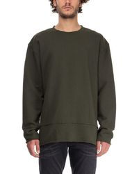 BLK DNM Green Cotton Sweatshirt